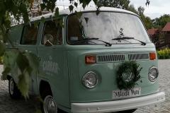 Auto do ślubu Volkswagen T2